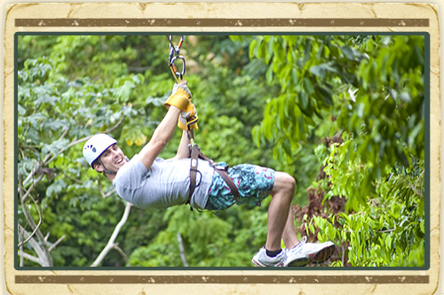 Flight of the White Witch Zipline from Montego Bay